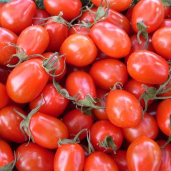 Tomato, Teardrop Red Grape (Organic)